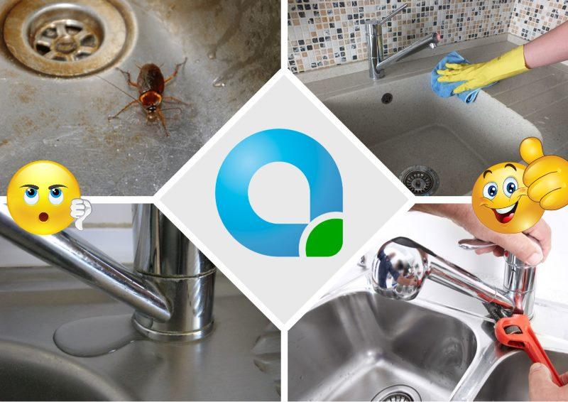 Чтобы избавиться от тараканов на кухне и в ванной, заблокируйте им доступ к воде