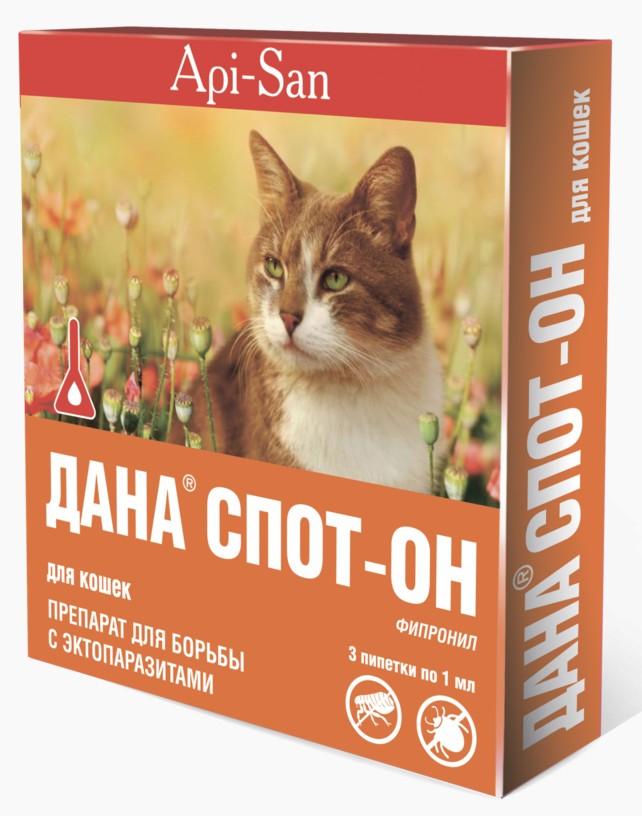 Дана Спот-он для кошек от блох
