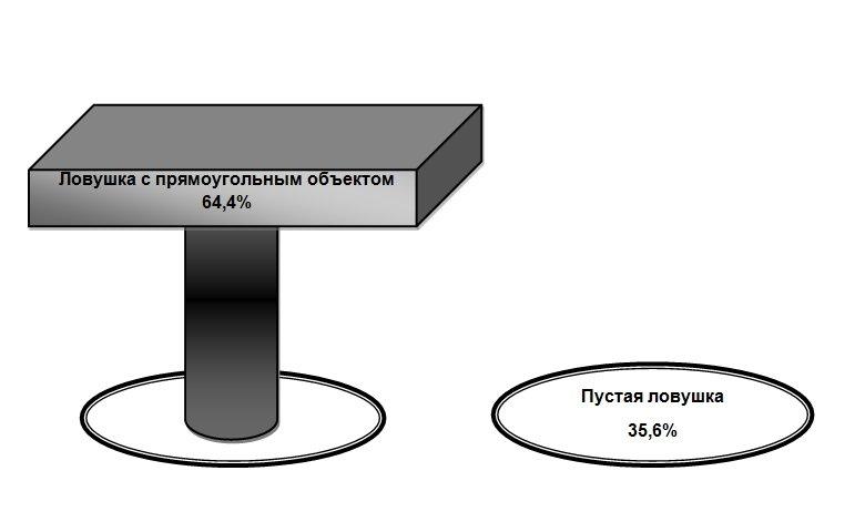 реакция клопов на вертикальные объекты 2