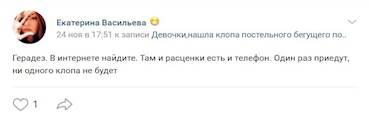 Рекомендация Екатерины Васильевой